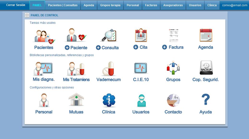 Historias clinicas online programa para clínicas médicas de gestion ...